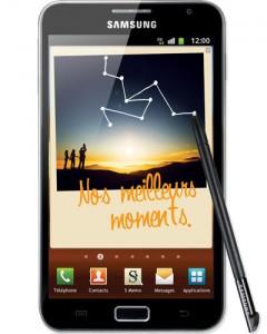 Samsung Galaxy Note noir