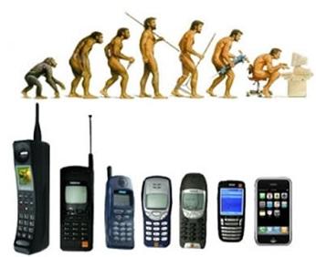 évolution du téléphone portable