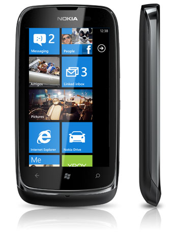 Le Nokia Lumia 610 arrive en France !