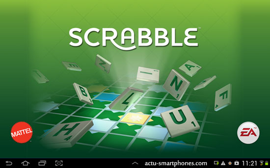 Scrabble sur tablette android
