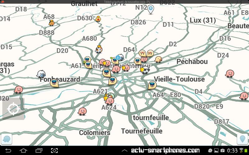 carte des wazers - communauté