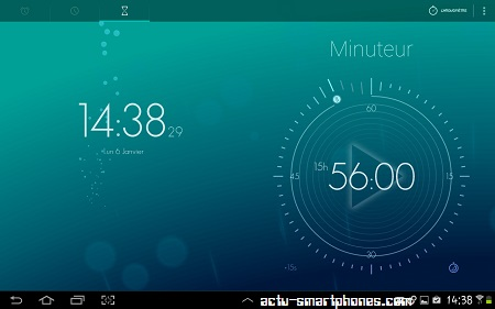 timely une application r veil chronom tre minuteur sur android. Black Bedroom Furniture Sets. Home Design Ideas