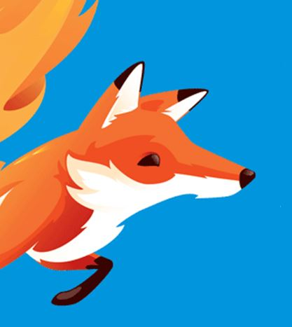 mozilla fox drawing