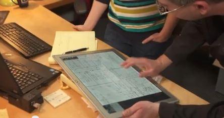 tablette pour architecte
