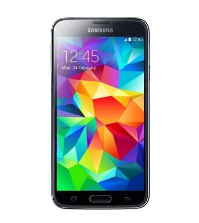 Galaxy S5 vue de face