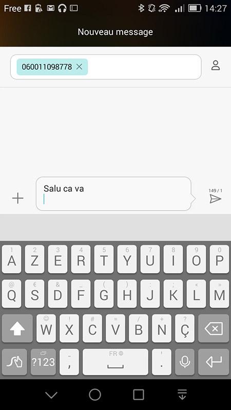 Exemple texto rencontre