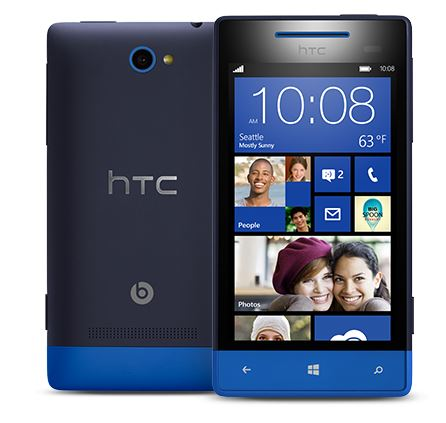 Le HTC Windows Phone 8S